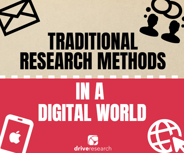 traditional research methods in a digital world