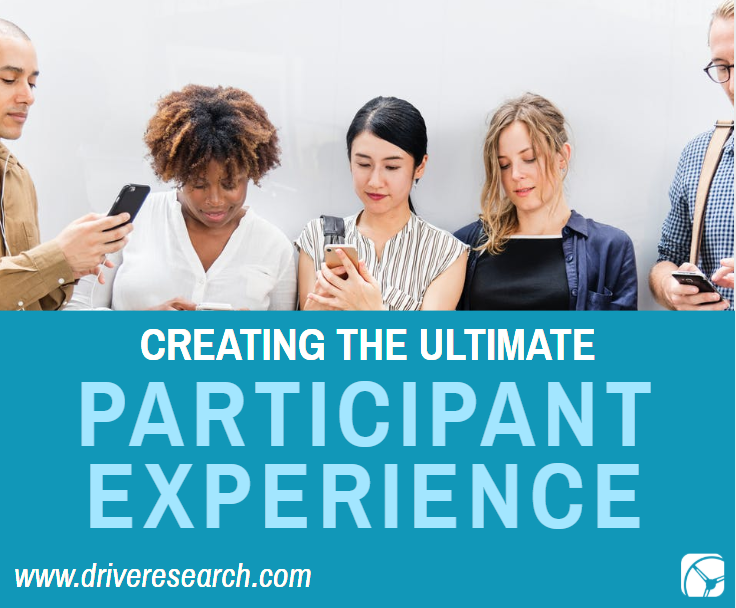 creating the ultimate participant experience | people on their cell phones