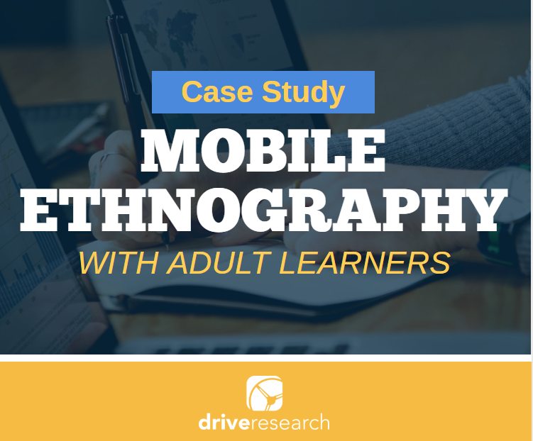 mobile ethnography with adult learners