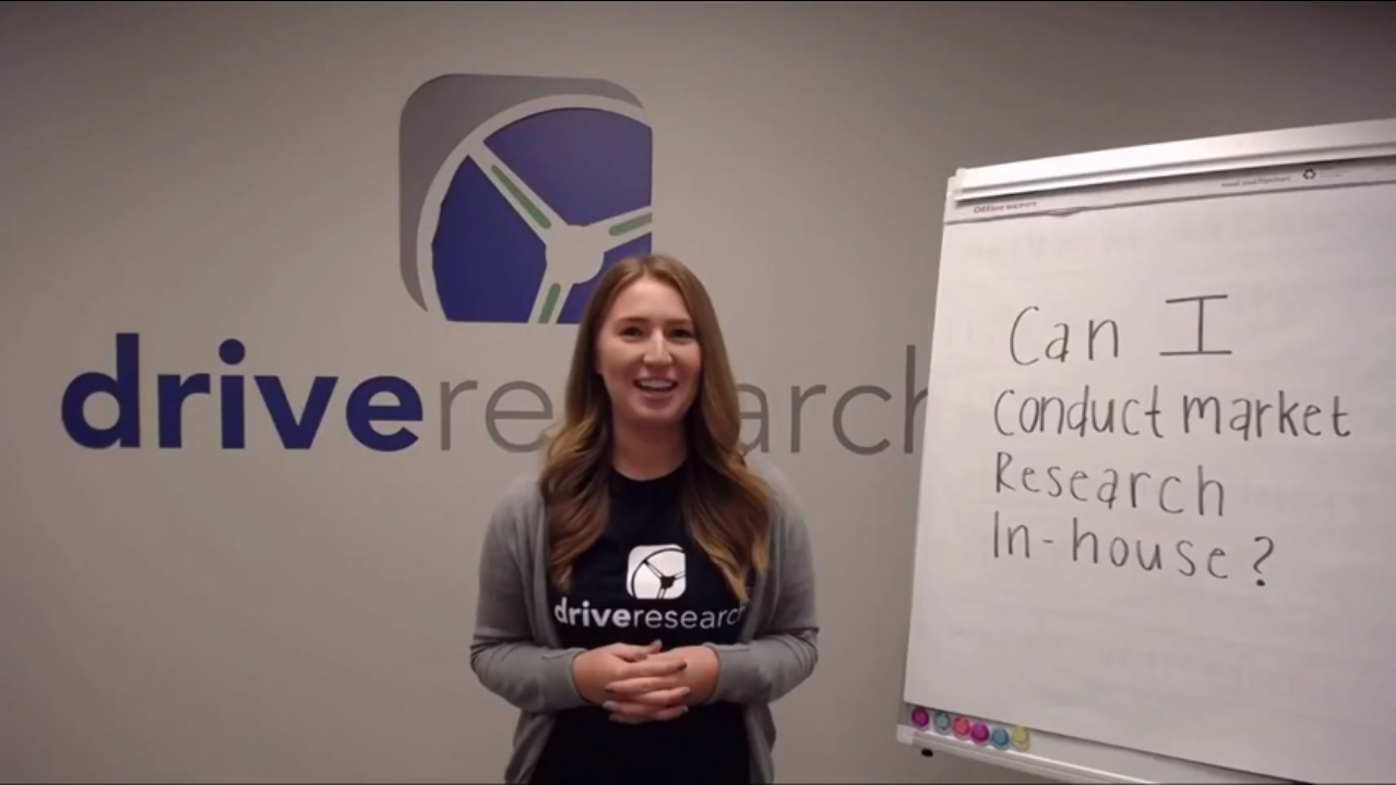 Watch This Video Before Conducting Your Own Market Research | Drive Research