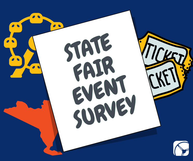 state fair event survey with drive research