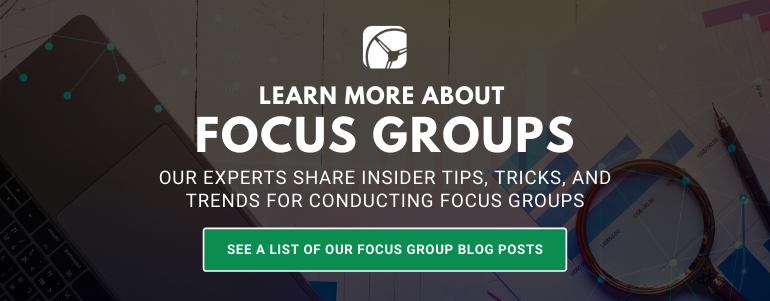 focus groups blog posts by drive research