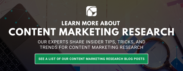 content marketing research blogs posts by drive research