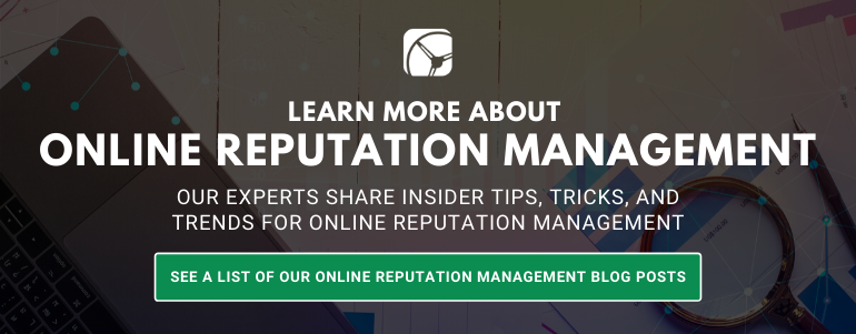 online reputation management blog posts by drive research