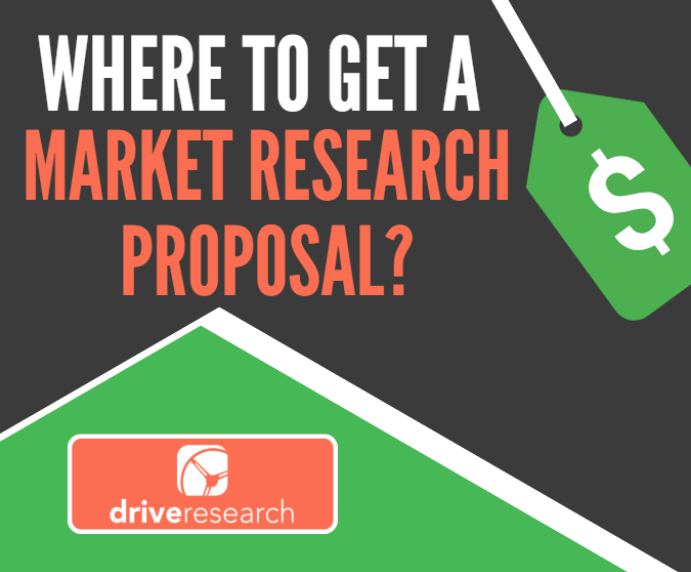 get a market research proposal from drive research