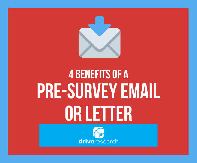 4 Benefits of a Pre-Survey Email or Letter | Market Research Firm Syracuse, NY