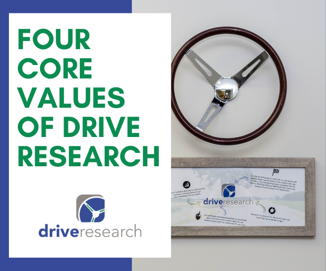 4 Core Values of Drive Research | Market Research Company New York