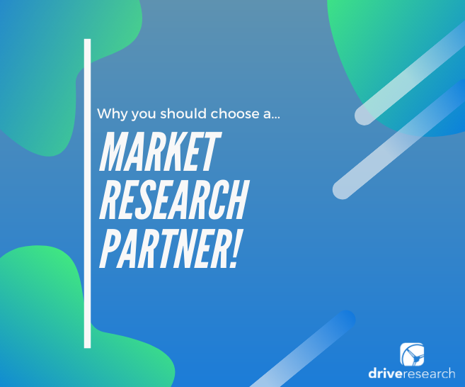4 Reasons Why You Should Consider a Market Research Partner