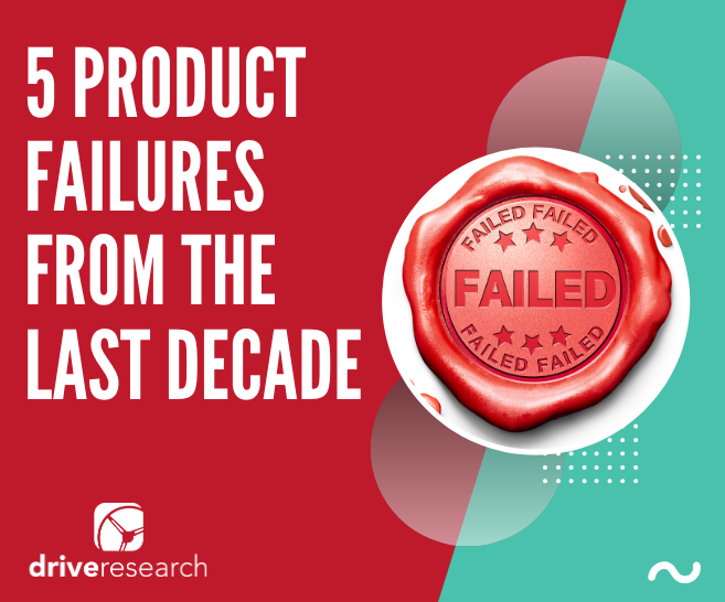 product fail market research help