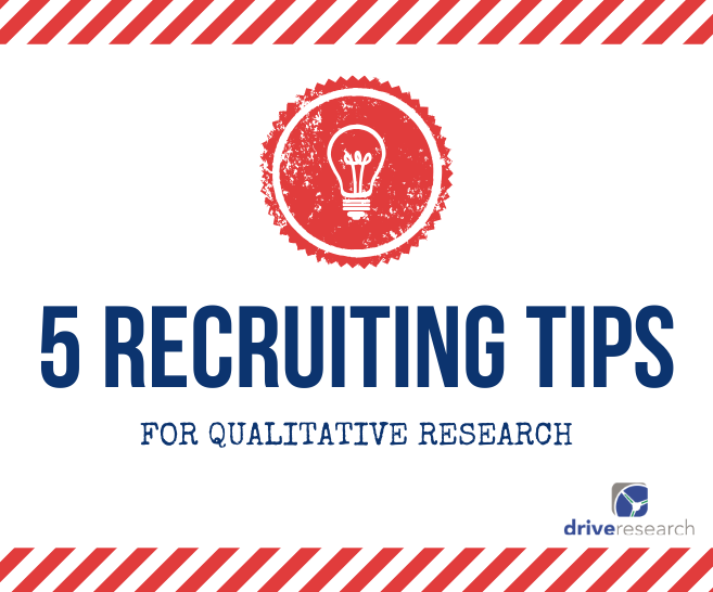 5 Tips to Recruit Participants for Qualitative Market Research