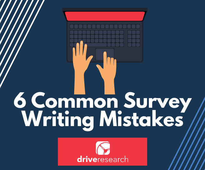 survey writing mistakes research syracuse