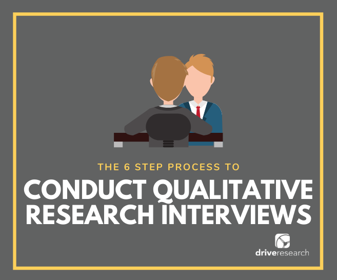 6 Step Process to Conducting Qualitative Research Interviews