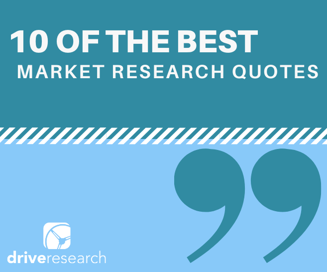best market research quotes