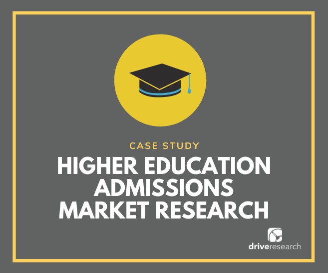 Case Study: Higher Education Admissions Market Research