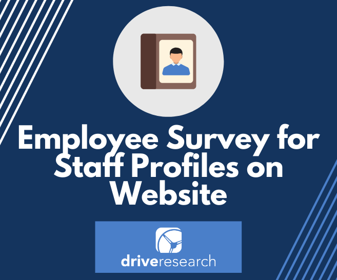 Case Study: Employee Survey for Staff Profiles on Website