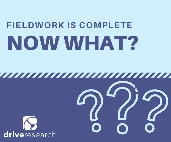 Your Survey Fieldwork is Complete, Now What? | 9 Data Cleaning Tips
