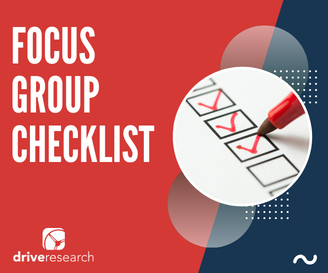 Focus Group Checklist | Moderator in Syracuse NY