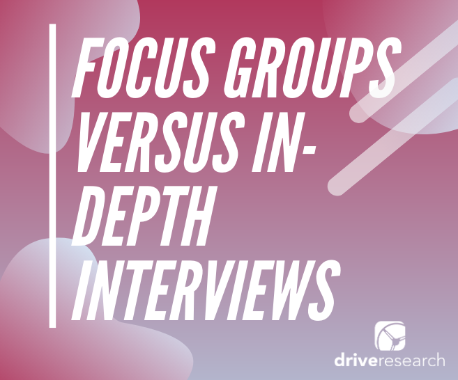 Focus Groups Versus In-Depth Interviews (And The Pros and Cons of Each)