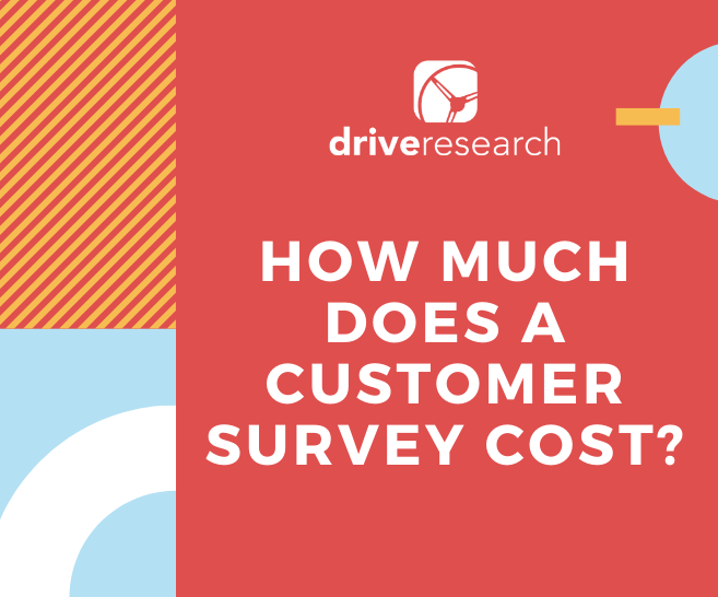 customer survey cost market research