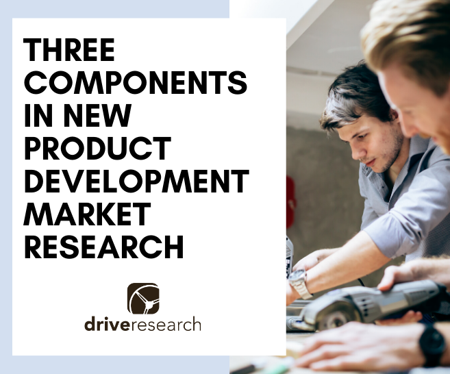 components in new product development market research