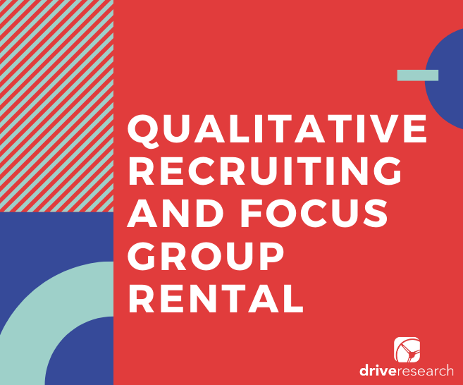 Qualitative Recruiting and Focus Group Rental | CPG Case Study