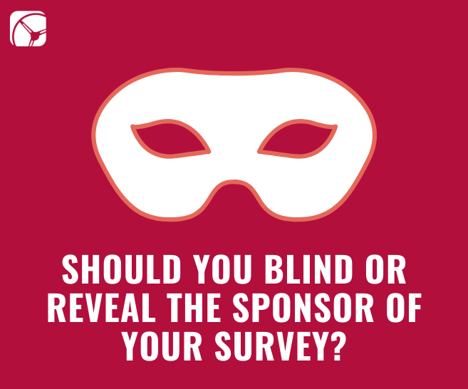 blind reveal sponsor market research