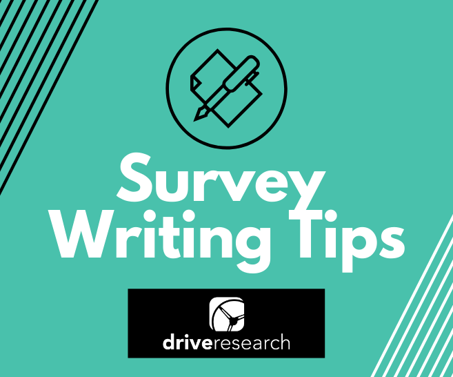 Survey Writing Tips | SONAR | Online Survey Company Buffalo, NY