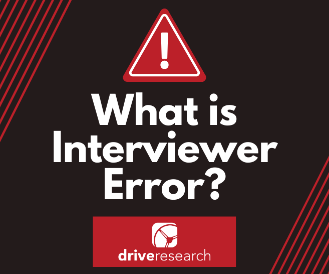 What is Interviewer Error | Market Research Firm Upstate NY