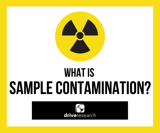 what is sample contamination market research firm