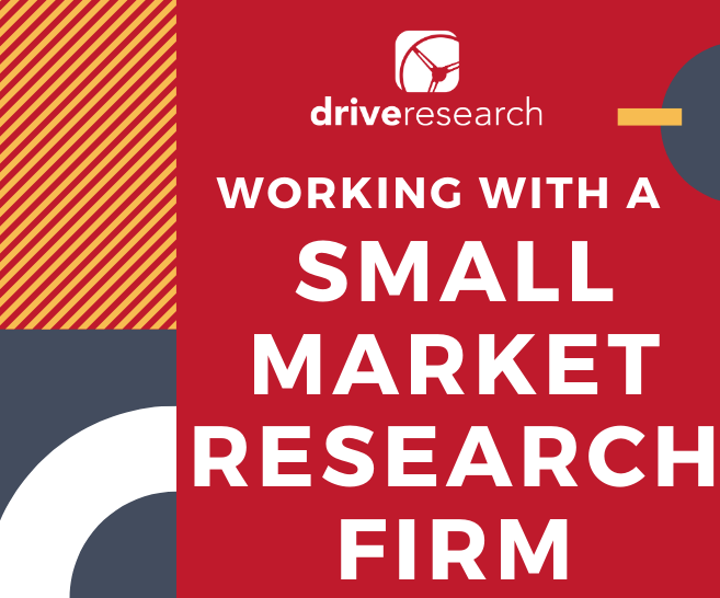 3 Advantages of Working with a Small Market Research Firm