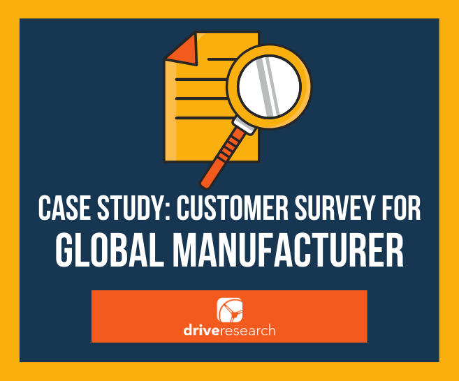 customer loyalty survey for global heating and cooling manufacturer