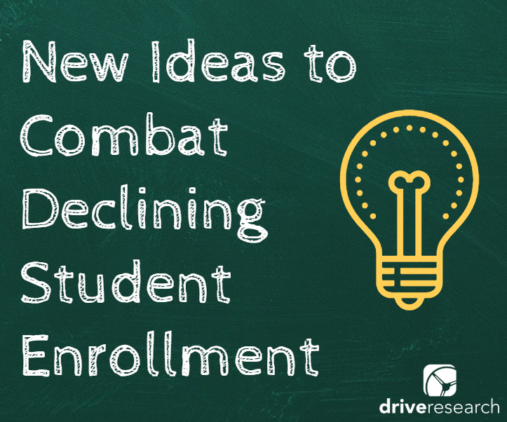 New Ideas to Combat Declining College Student Enrollment