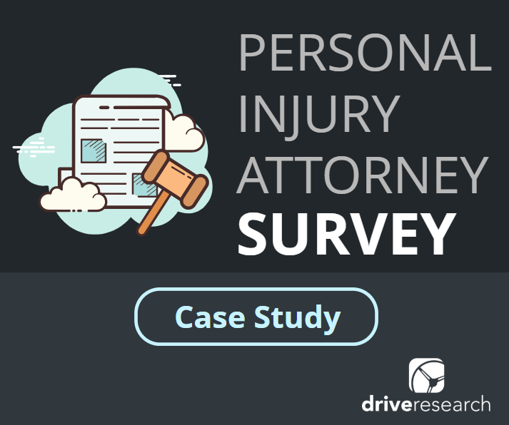 Personal Injury Attorney Survey | Market Research Case Study