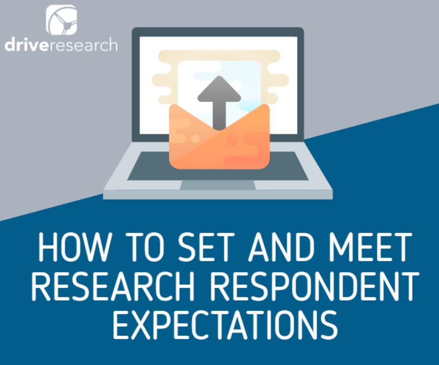 how to set and meet research respondent expectations