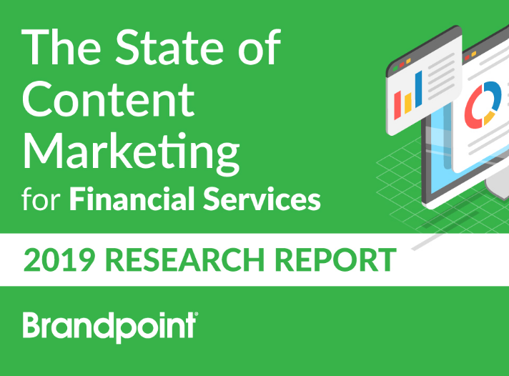 state of content marketing finacial