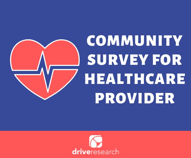 community survey for healthcare provider