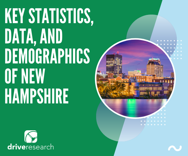 Market Research New Hampshire| Key Statistics, Data, and Demographics
