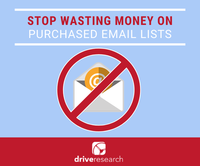 Stop Wasting Money on Purchased Email Customer Lists. Do This Instead.