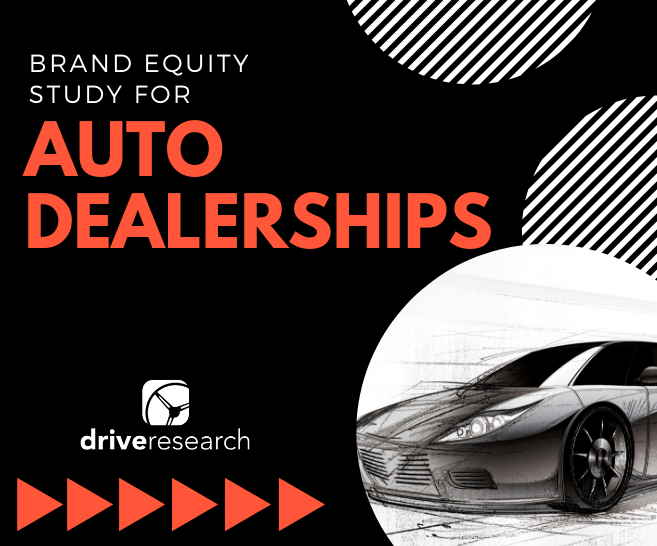 Brand Equity Study for Car Dealerships | Market Research Company