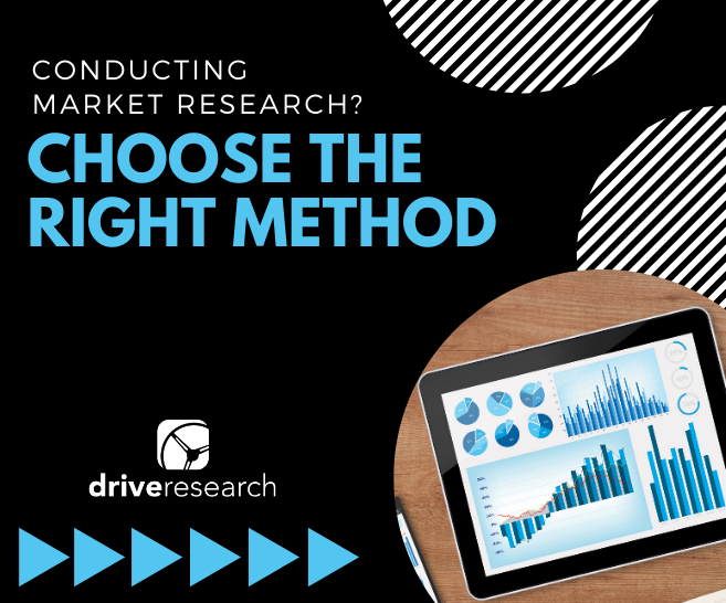 Conducting Market Research? How to Choose the Best Methodology