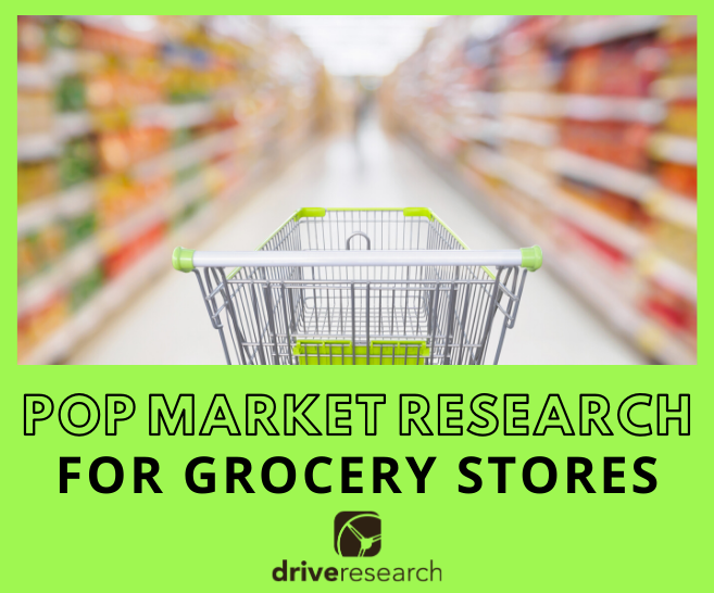 Point-of-Purchase (POP) Market Research for Grocery Stores
