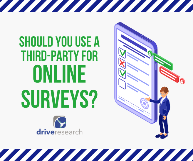 should you use a third-party for online surveys