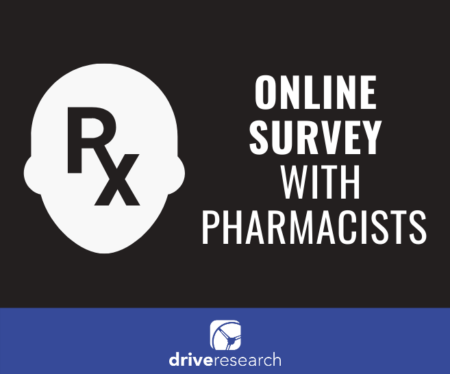 Online Survey with Pharmacists | Health Insurance Market Research