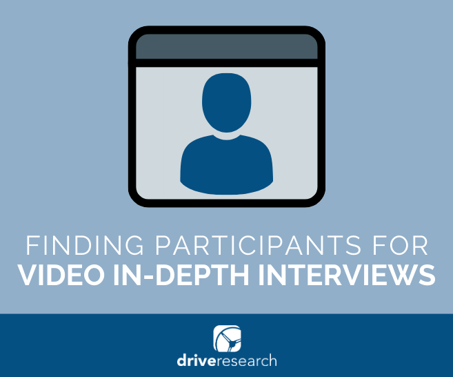 How to Find Participants for Video In-Depth Interviews | Qualitative Recruiting Company
