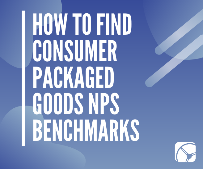 CPG NPS Benchmarks | Consumer Packaged Goods Market Research