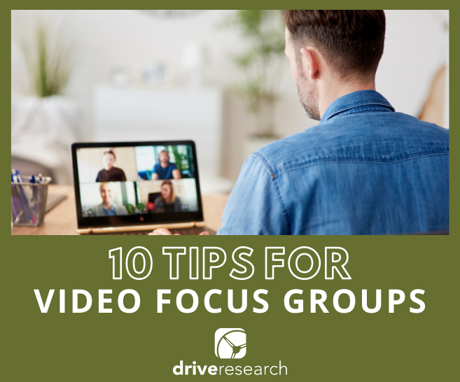 10 tips for video focus groups