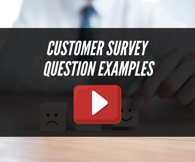 Sample Customer Satisfaction Survey Questions You Need to Be Asking