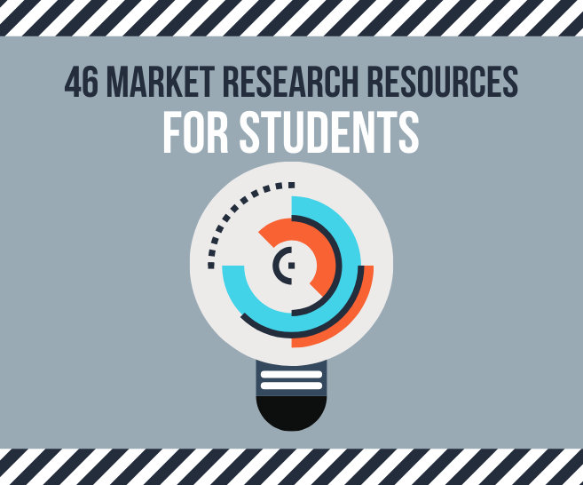 46 Market Research Resources for Students in 2020 | A Complete List