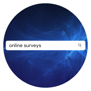 searching for online surveys
