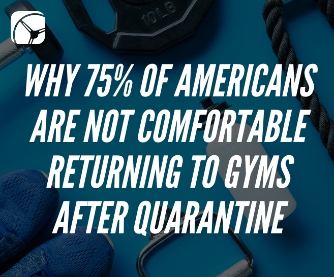 Why 75% of Americans are Not Comfortable Returning to Gyms After Quarantine